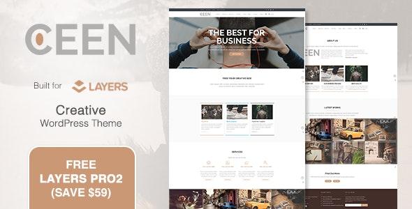 Ceen   Business MultiPurpose WordPress Theme - Business Corporate