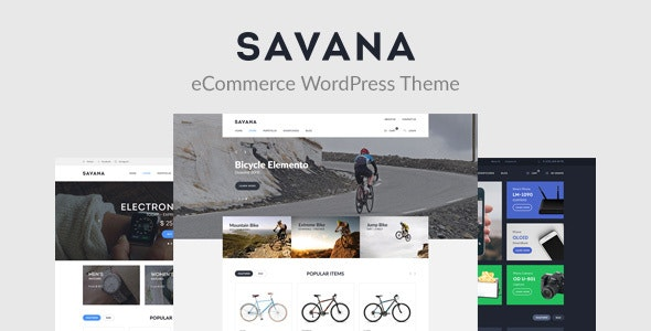 Savana - Multi Concept WooCommerce WordPress Theme for eCommerce - WooCommerce eCommerce
