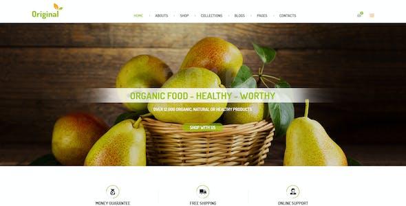 AmyOrganic - Organic and Healthy Theme for WordPress