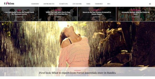 AmyNews - News Magazine Fashion Game Sport Theme