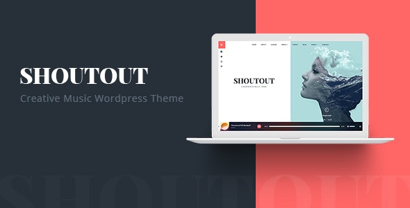 ShoutOut - A Clean WordPress Music Theme - Music and Bands Entertainment