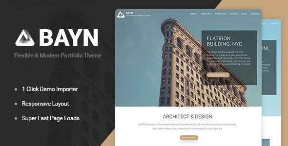 Bayn - WordPress Business Portfolio Theme - Business Corporate