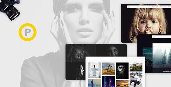Phoboxi - Responsive WordPress Theme - Photography Creative