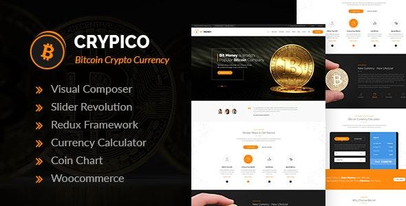 Crypico - Crypto Currency WordPress Theme - Technology WordPress