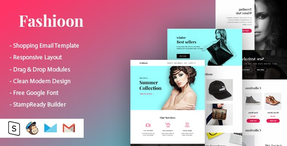 Fashioon - Shopping Email Template - Newsletters Email Templates