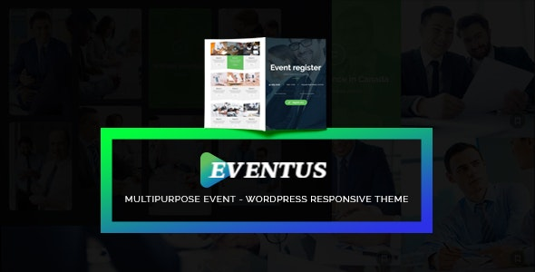 Eventus - Event and Conference WordPress Theme - Events Entertainment