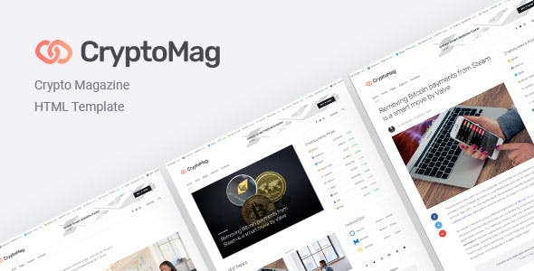 CryptoMag   Cryptocurrency Magazine HTML Template