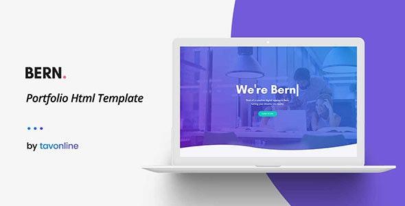 Bern - Creative Html Portfolio Template - Portfolio Creative