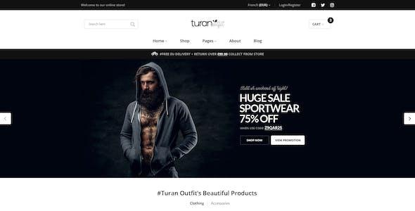 Turan -  Fashion Multipurpose WooCommerce Theme