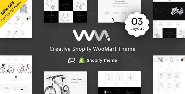 WooMart - Sectioned Multipurpose Shopify Theme - Miscellaneous Shopify