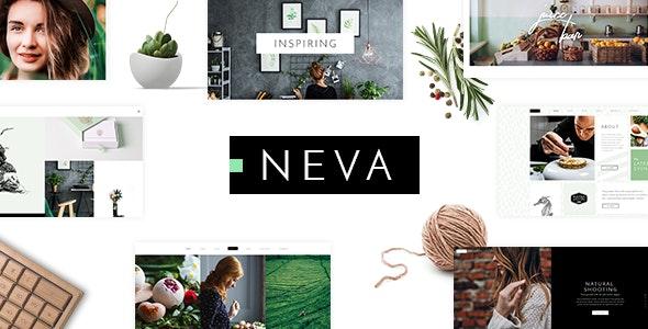 Neva - Multipurpose Creative Theme - Creative WordPress