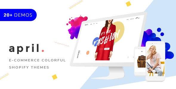 APRIL- Creative Sectioned Shopify Themes Bundle - Fashion Shopify
