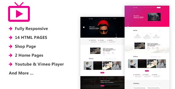 MaxVid - Video Agency HTML5 Template