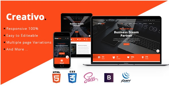 Creativo - Consulting & Business HTML Template - Site Templates