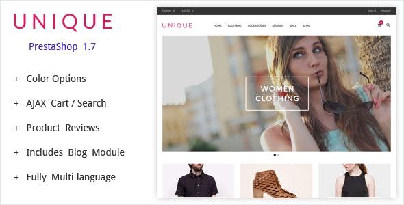 UniqueShop - Prestashop Theme - PrestaShop eCommerce