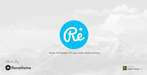 RE - Multi-purpose Responsive Muse Templates