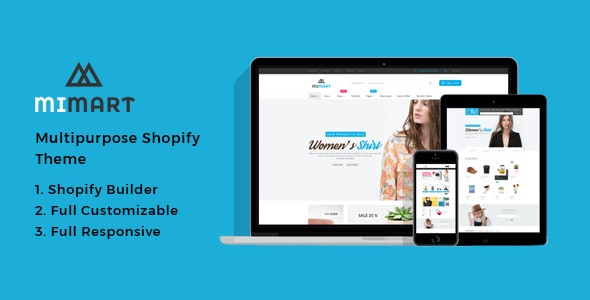 Mimart - Fashion Shopify Theme - Shopify eCommerce
