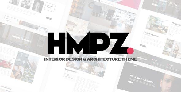 Hampoz - Responsive Interior Design & Architecture Theme
