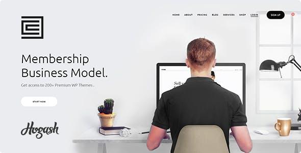 Membership HTML template