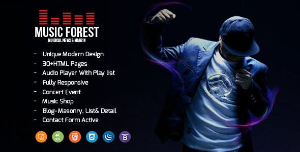 MusicForest Music Blog Artist and Online Store