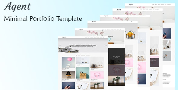 Agent – Minimal Portfolio HTML5 Template - Portfolio Creative