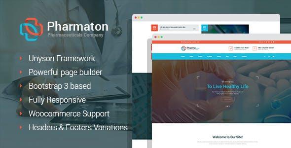 Pharmaton - Medical and Pharmacy WordPress Theme
