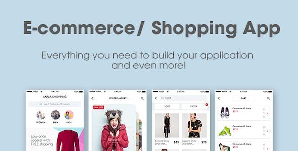 Anna | Women Mobile App UI Pack