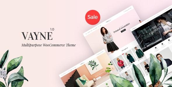 Vayne - Multipurpose WooCommerce Theme - WooCommerce eCommerce