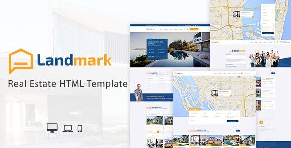 Landmark - Real Estate HTML Template - Business Corporate