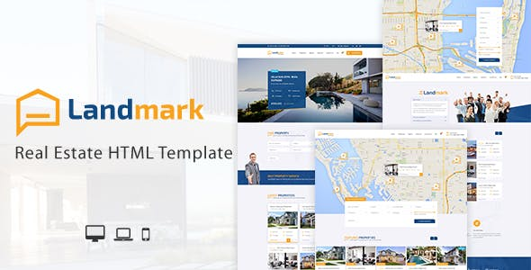 Landmark - Real Estate HTML Template