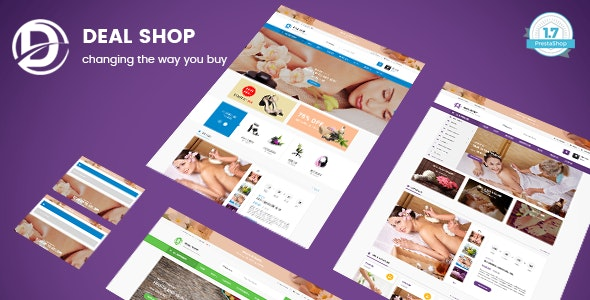 Deal Shop - Health & Beauty Responsive PrestaShop 1.7 Theme - Health & Beauty PrestaShop