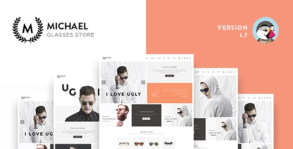 Leo Michael - Responsive Prestashop 1.6 & 1.7 Theme for Glasses Store - PrestaShop eCommerce