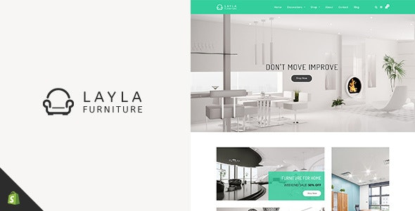 Layla - Shopify Furniture Store - Shopping Shopify