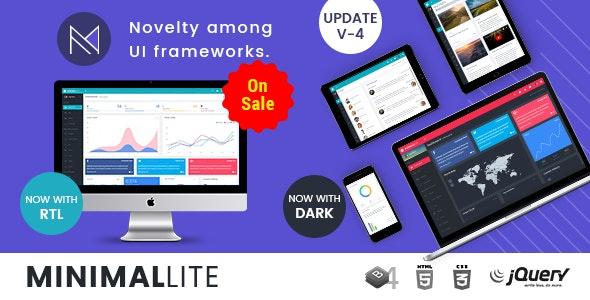 Minimal Lite - Responsive Bootstrap 4 Admin, Dashboard & WebApp Templates - Admin Templates Site Templates