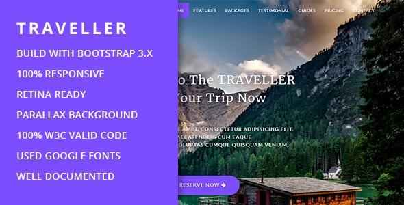 Traveller HTML5 Template V1 - Site Templates