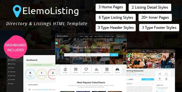 Airbnb and Marketplace HTML Website Templates from ThemeForest