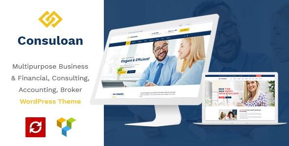 Consuloan | Multipurpose Consulting WordPress Theme - Business Corporate