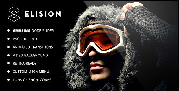 Elision - Retina Multi-Purpose WordPress Theme - Creative WordPress