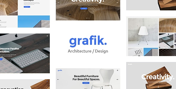 Grafik - Architecture and Design Portfolio Theme - Portfolio Creative