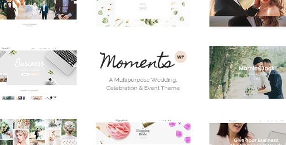 Moments - Wedding & Event Theme - Wedding WordPress