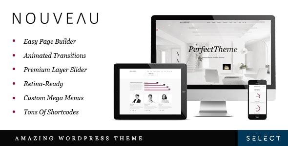 Nouveau - Multipurpose WordPress Theme - Creative WordPress