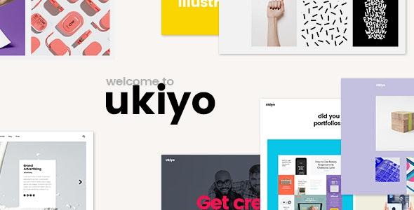 Ukiyo - Portfolio Theme - Portfolio Creative