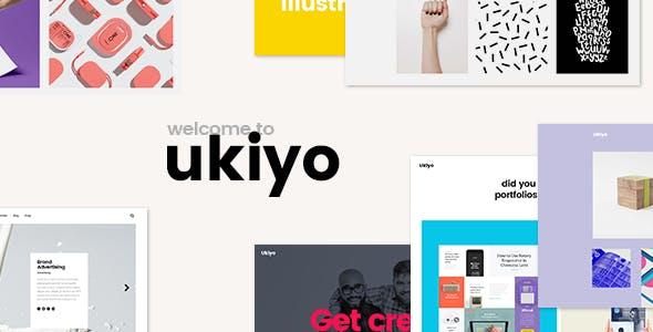 Ukiyo - Portfolio Theme