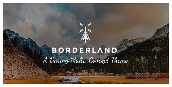 Borderland - Multipurpose Vintage Theme - Creative WordPress