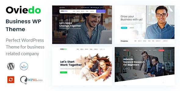 Oviedo- Multipurpose Business WordPress Theme - Business Corporate