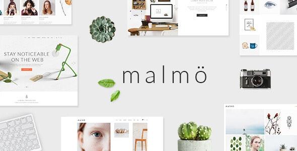 Malmö - A Charming Multi-concept Theme - Portfolio Creative
