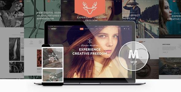 Moose - Creative Multipurpose Theme - Creative WordPress