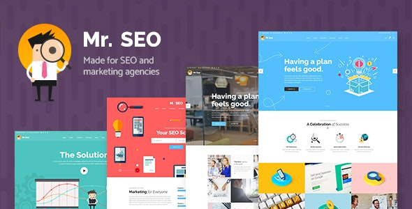 Mr. SEO - Social Media Marketing Agency Theme - Marketing Corporate