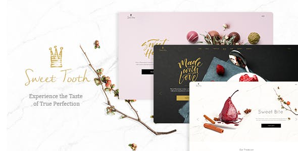 Sweet Tooth - Delicious Cake Shop Theme