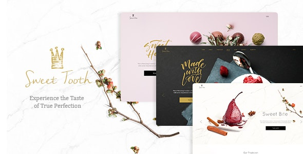 Sweet Tooth - Delicious Cake Shop Theme - Food Retail